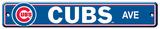 Chicago Cubs Street Sign Panneaux & Plaques