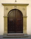 Prague Door II Kunst af Jim Christensen