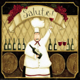 Kitchen Favorites: Salute Posters par Dan Dipaolo