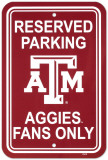 Texas A&M University Parking Sign Wall Sign