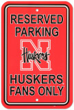 University of Nebraska Parking Sign Wall Sign