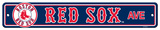 Boston Red Sox Street Sign Wall Sign