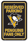 Pittsburgh Penguins Parking Sign Wall Sign