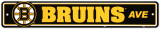 Boston Bruins Street Sign Wall Sign
