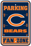 Chicago Bears Parking Sign Veggskilt