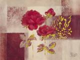 Red Impression Prints by  Verbeek & Van Den Broek