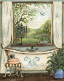 Serene Bath II Prints by Kate McRostie