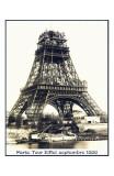 Tour Eiffel Septembre 1888 Print