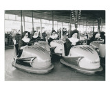 Nuns Driving Bumper Cars, France Print