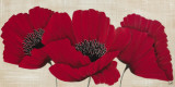 Linen Poppies II Prints by Kaye Lake