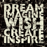 Carole Stevens - Marble Dream Imagine - Art Print