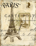 Paris Collage I Affiches par Gregory Gorham