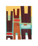 Hats &amp; Pants Giclee Print by Jenn Ski