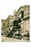 Accident de la Gare Montparnasse 1895 Affiches