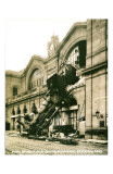 Accident de la Gare Montparnasse 1895 Prints