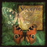 Butterfly Sentiments…Strength Print