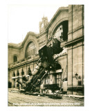 Accident de la Gare Montparnasse 1895 Art