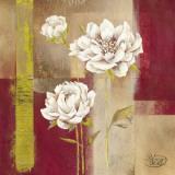 Shimmering Blossom Poster von  Verbeek & Van Den Broek