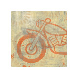 Motorcycle I Giclee Print by Erin Clark
