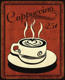 Retro Coffee III Póster por N. Harbick