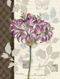 Chelsea Purple I Print by Pamela Gladding