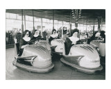 Nuns Driving Bumper Cars, France Prints