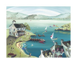 The Lakeshore Inn Prints by Anne Blundell