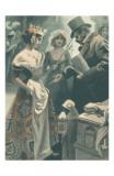 La Robe et la Douleur Prints by F. Bac