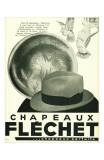 Chapeaux Flechet Posters