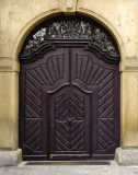 Prague Door III Print by Jim Christensen