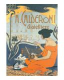 Calderoni Gioielliere 1898 Prints by Adolfo Hohenstein