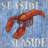 Coastal USA Lobster Posters af Paul Brent
