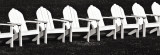 Block Island Chairs I Art by Susan Frost