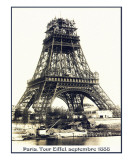Tour Eiffel Septembre 1888 Prints