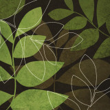 Fall Leaves I Pôsters por Kristin Emery
