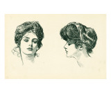 Gibson Girls Portraits 1902 Art