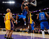 Dallas Mavericks v Los Angeles Lakers - Game One, Los Angeles, CA - MAY 02: Tyson Chandler Photographic Print by Kevork Djansezian