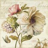 Blumenmarkt II Kunstdruck von Lisa Audit