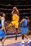 Dallas Mavericks v Los Angeles Lakers - Game One, Los Angeles, CA - MAY 2: Kobe Bryant Photographic Print by Andrew Bernstein