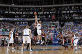 Portland Trailblazers v Dallas Mavericks - Game Five, Dallas, TX - APRIL 25: Marcus Camby and Tyson Photographic Print by Glenn James