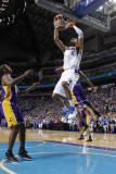 Los Angeles Lakers v Dallas Mavericks - Game Four, Dallas, TX - MAY 8: Tyson Chandler, Kobe Bryant  Photographic Print by Danny Bollinger