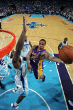 Los Angeles Lakers v New Orleans Hornets - Game Six, New Orleans, LA - APRIL 28: Shannon Brown and  Lámina fotográfica por Layne Murdoch