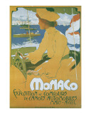 Monaco Exposition et Concours 1904 Posters by Adolfo Hohenstein