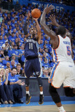 Memphis Grizzlies v Oklahoma City Thunder - Game Two, Oklahoma City, OK - MAY 3: Mike Conley and Ke Photographic Print by Layne Murdoch