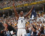 Oklahoma City Thunder v Memphis Grizzlies - Game Four, Memphis, TN - MAY 9: Tony Allen Photographic Print by Joe Murphy