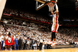 Philadelphia 76ers v Miami Heat - Game Five,  MIAMI - APRIL 27: Dwyane Wade Photographic Print by Issac Baldizon