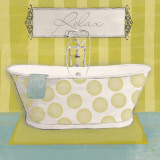 Polka Tub I Prints by Sarah Adams