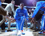 Denver Nuggets v Oklahoma City Thunder - Game Five, Oklahoma City, OK - APRIL 27: Kevin Durant Fotografie-Druck von Dilip Vishwanat