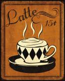 Retro Coffee IV Kunstdrucke von N. Harbick