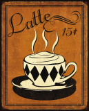 Retro Coffee IV Prints by N. Harbick